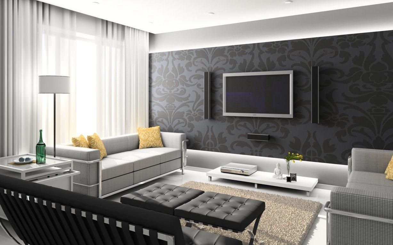 wallpaper interior design ideas photo - 8