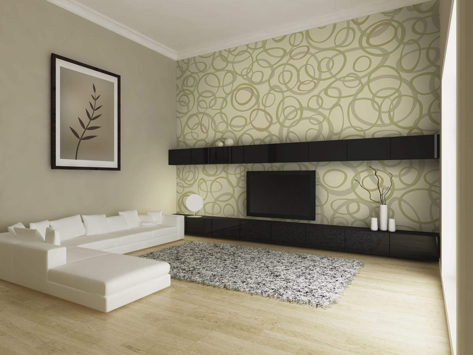 wallpaper interior design india photo - 7