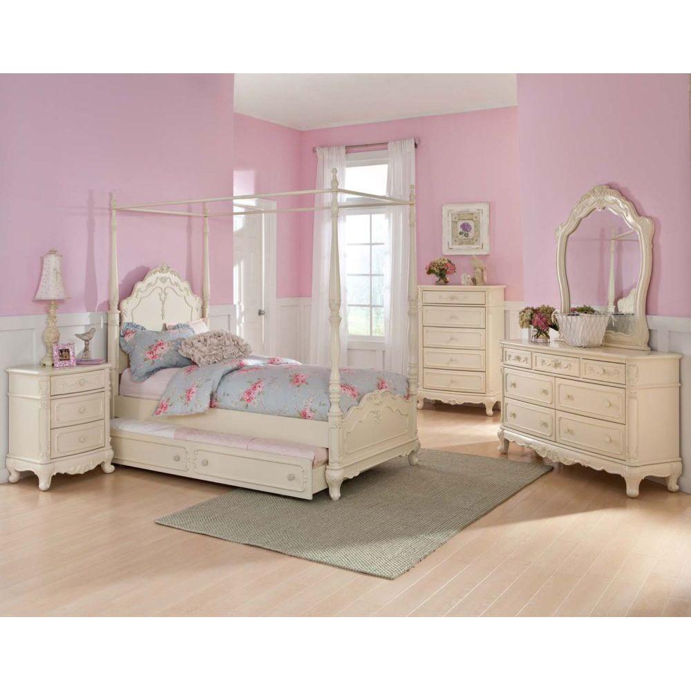 white bedroom furniture for little girls photo - 10