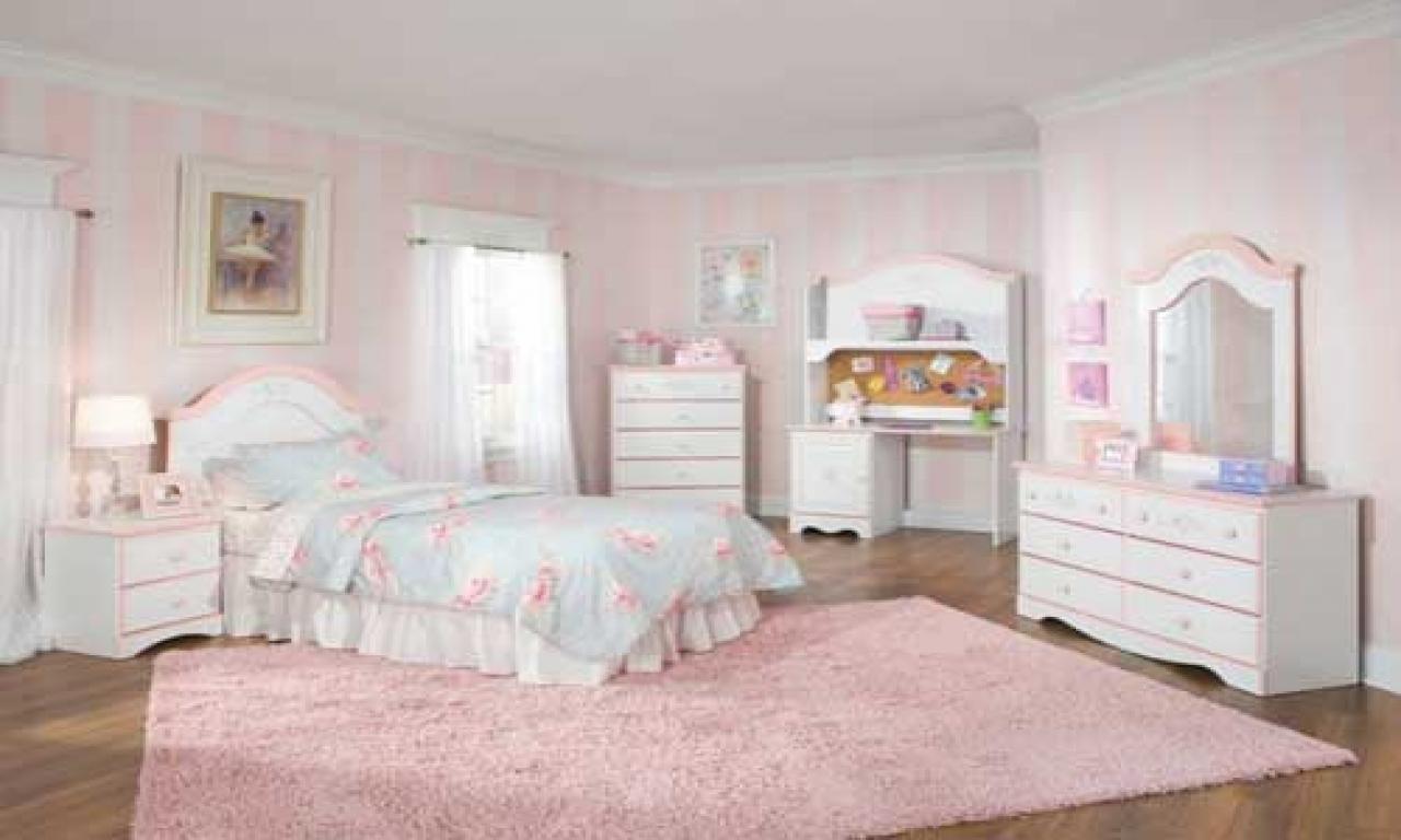 white bedroom furniture for little girls photo - 3