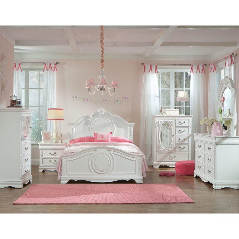 White bedroom furniture for little girls | Hawk Haven