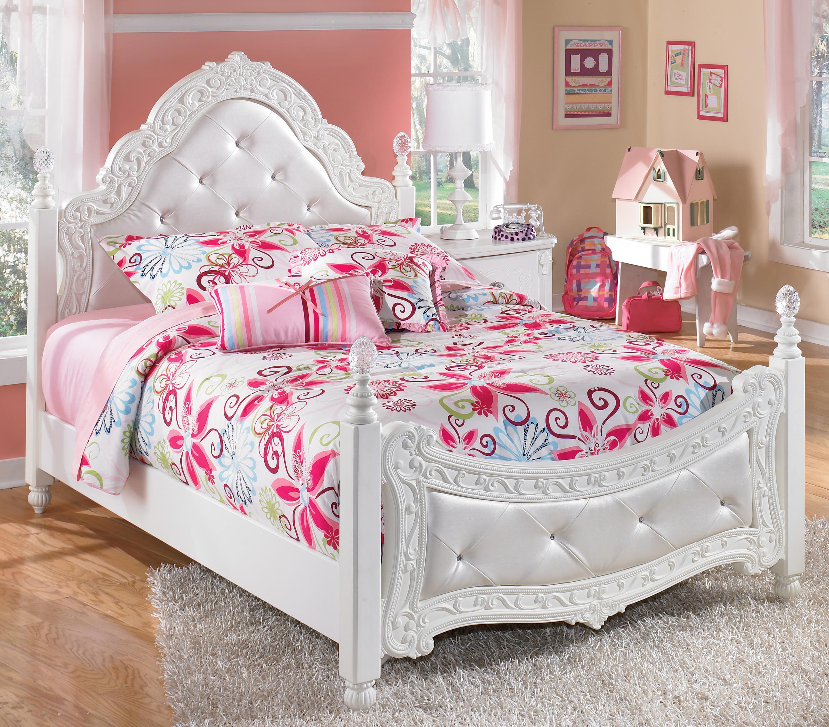 white bedroom furniture for little girls photo - 9