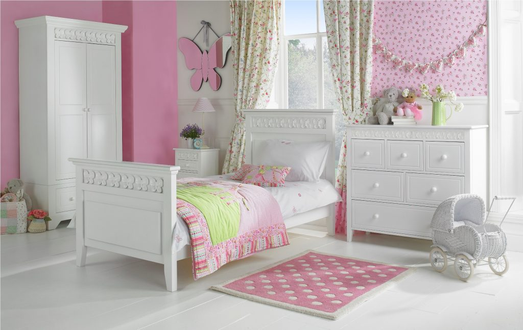 white bedroom furniture sets for girls photo - 10