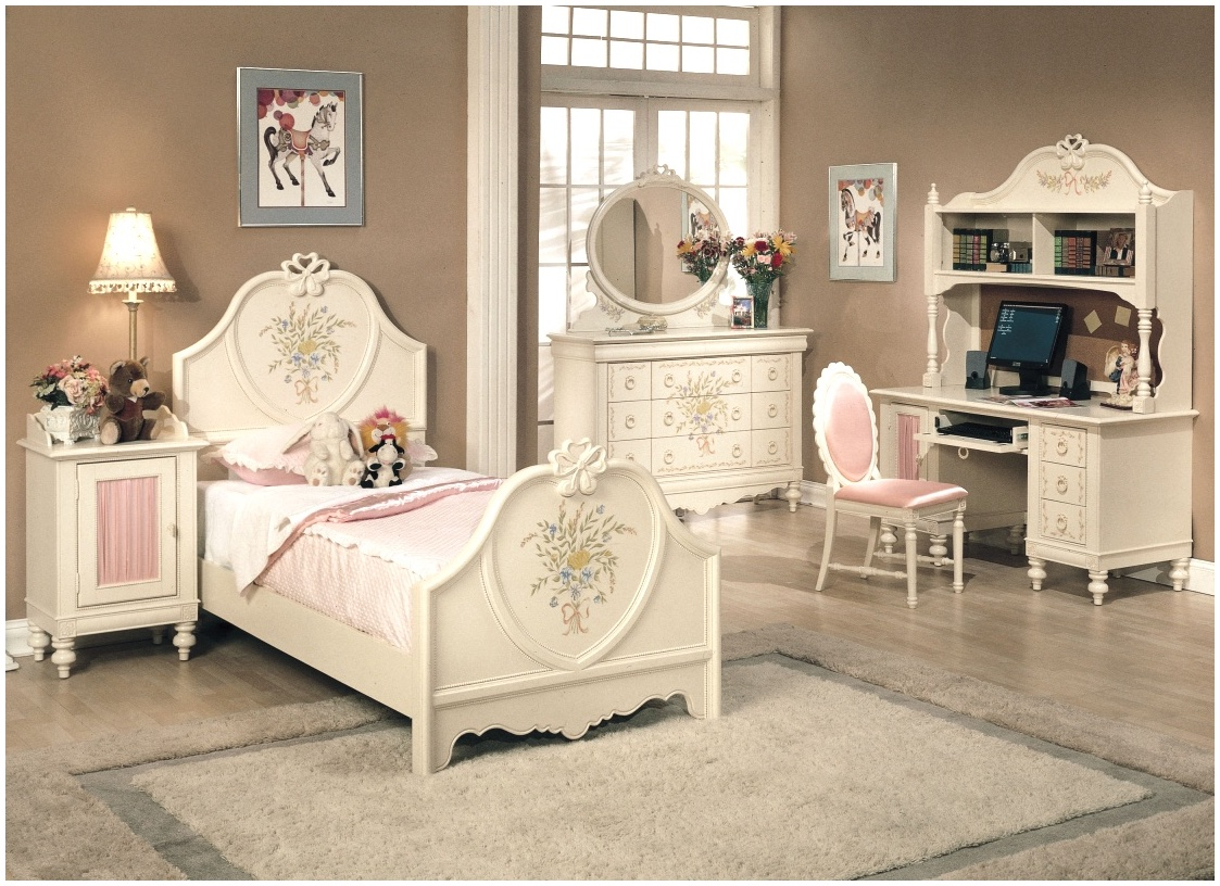 white bedroom furniture sets for girls photo - 3