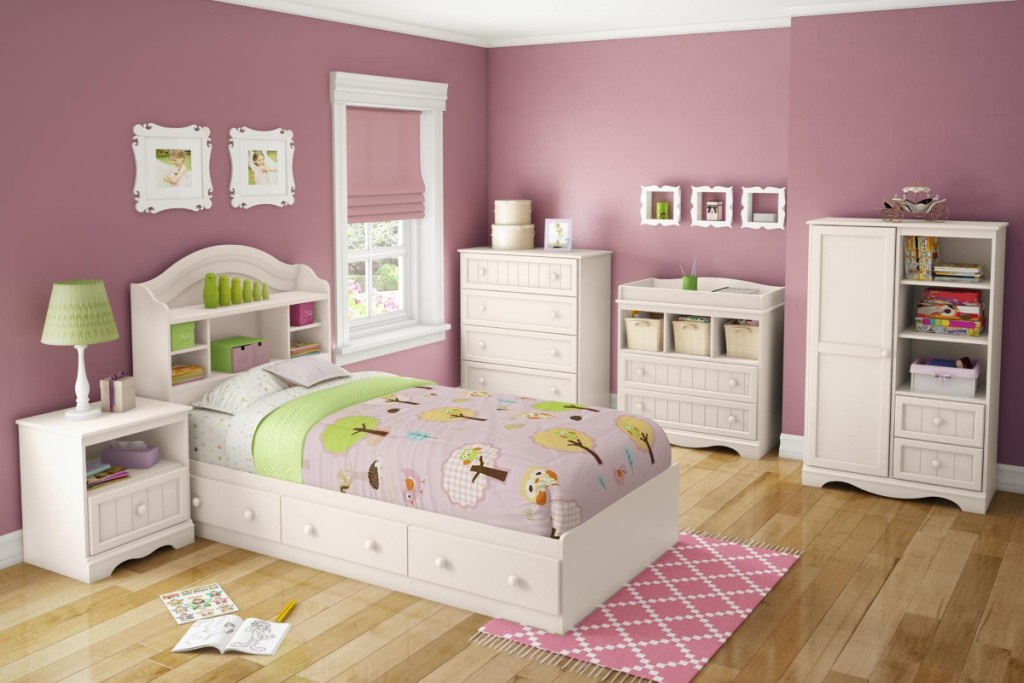 white bedroom furniture sets for girls photo - 6