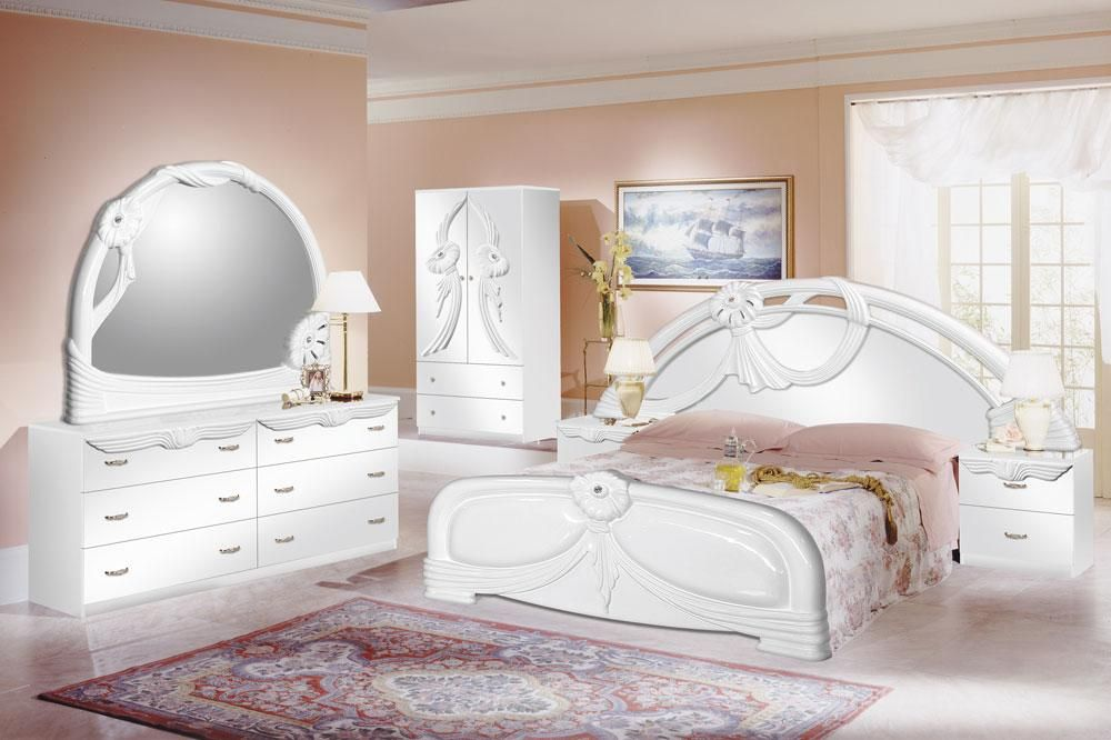 white bedroom furniture sets for girls photo - 7