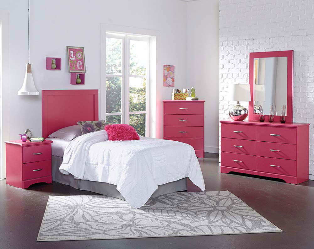 white bedroom furniture sets for girls photo - 9