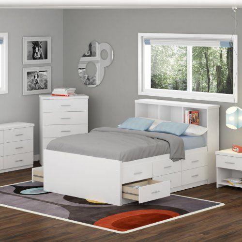 Simple White Dresser