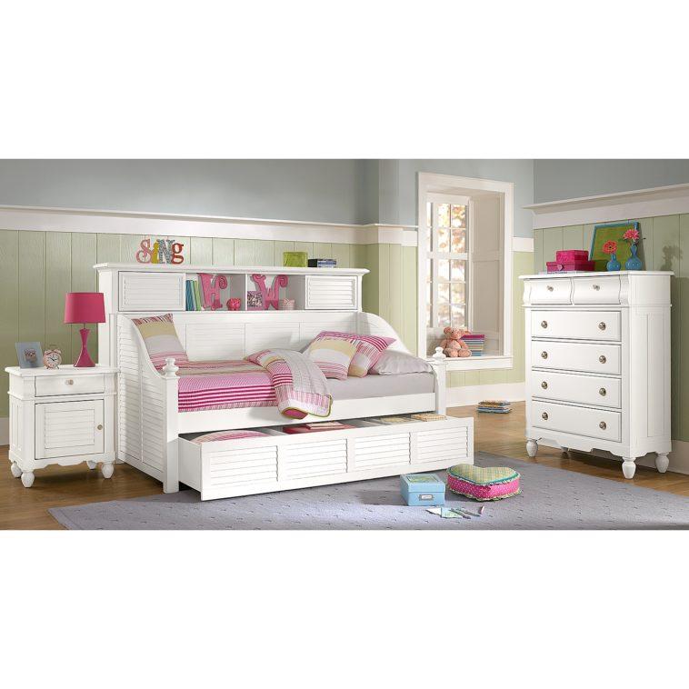white full bedroom furniture for girls photo - 1