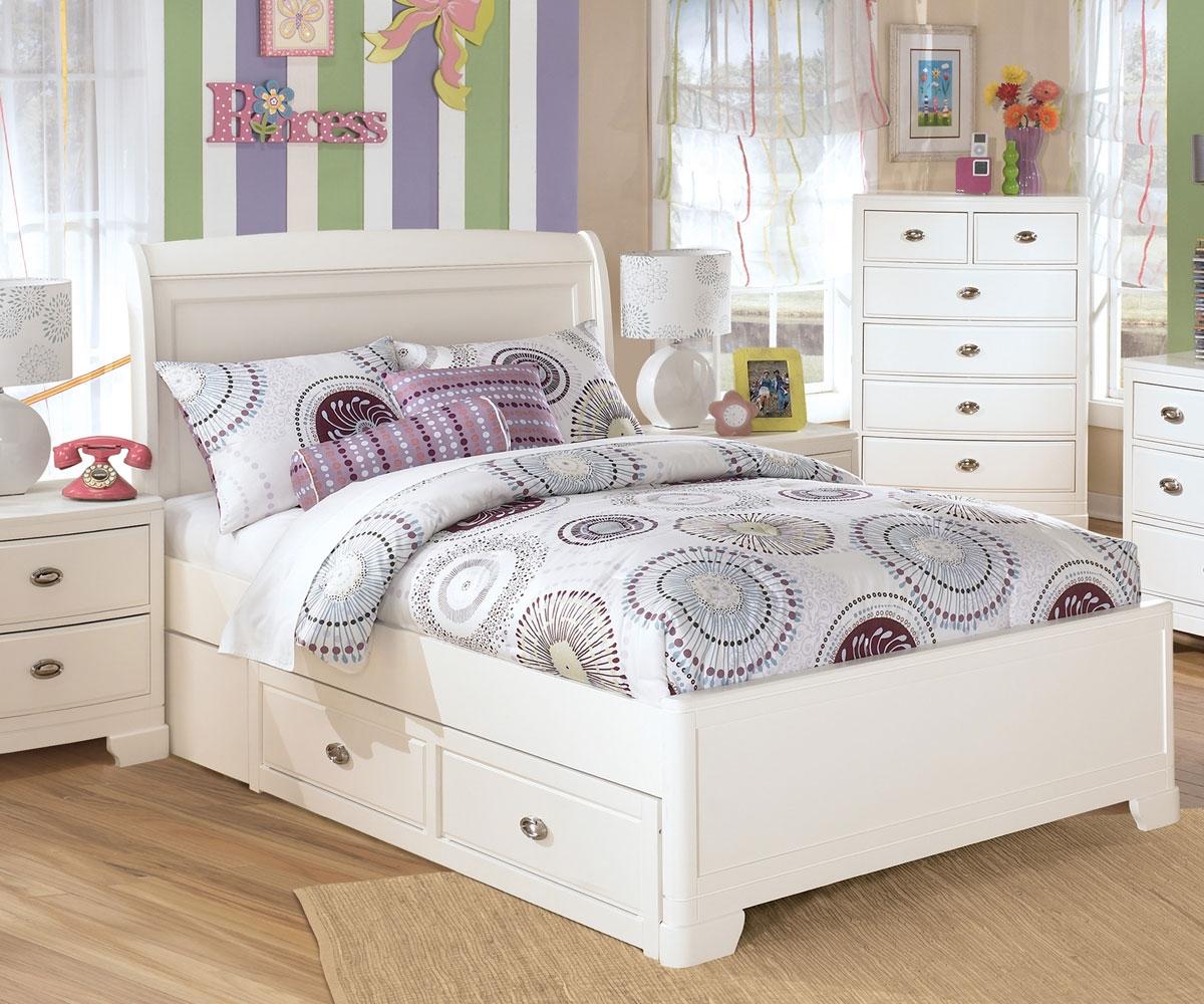 white full bedroom furniture for girls photo - 4