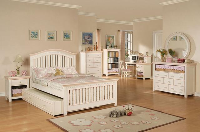 white full bedroom furniture for girls photo - 5