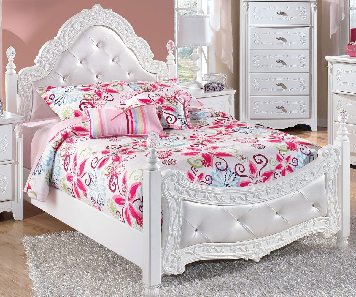 white full bedroom furniture for girls photo - 6