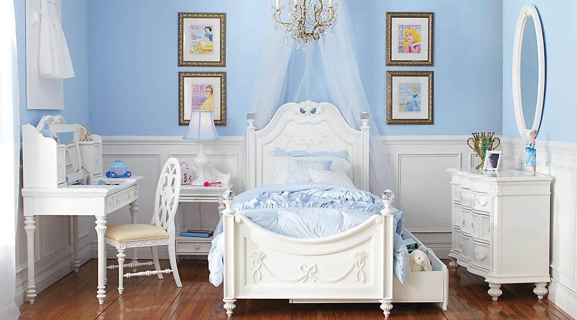 white full bedroom furniture for girls photo - 7