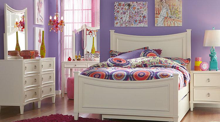 white full bedroom furniture for girls photo - 9
