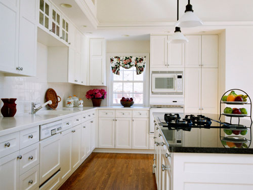 white kitchen cabinet knob ideas photo - 6