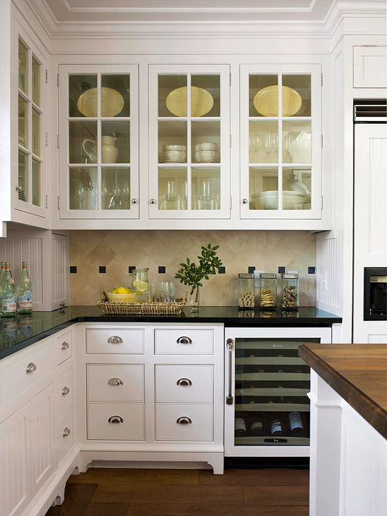 white kitchen cabinets design ideas photo - 1