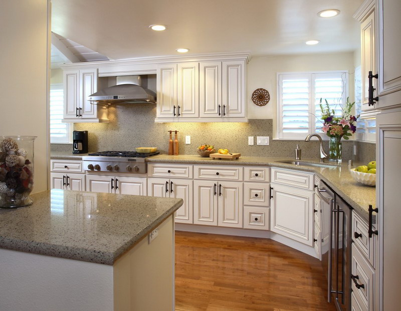 white kitchen cabinets design ideas photo - 10