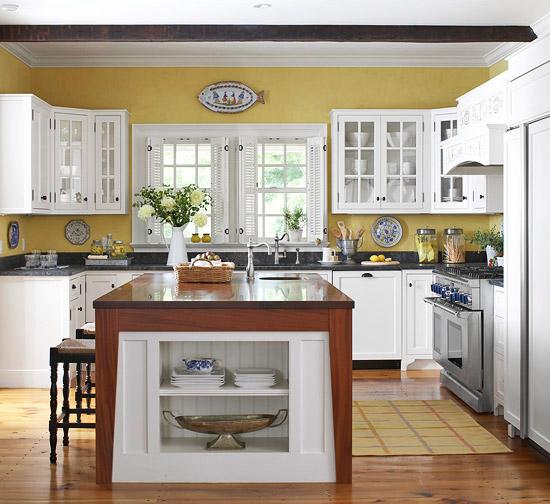 white kitchen cabinets design ideas photo - 3