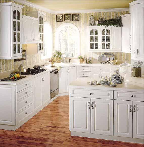 white kitchen cabinets design ideas photo - 6