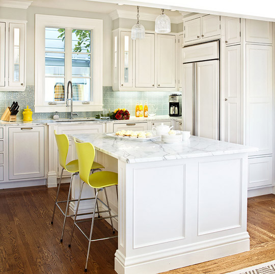 white kitchen cabinets design ideas photo - 8