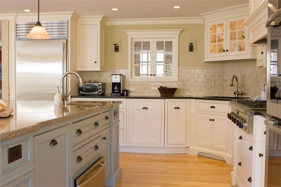 white kitchen cabinets design ideas photo - 9