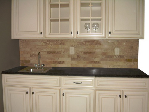 white kitchen cabinets from lowes photo - 7