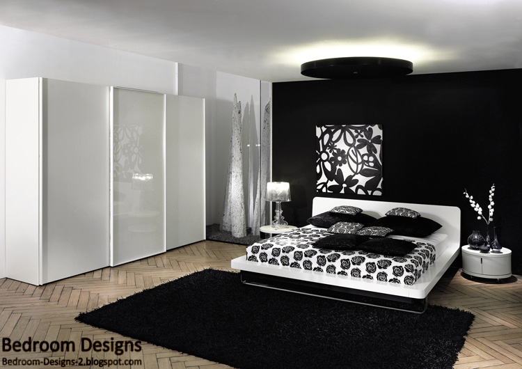 white or black bedroom furniture photo - 6