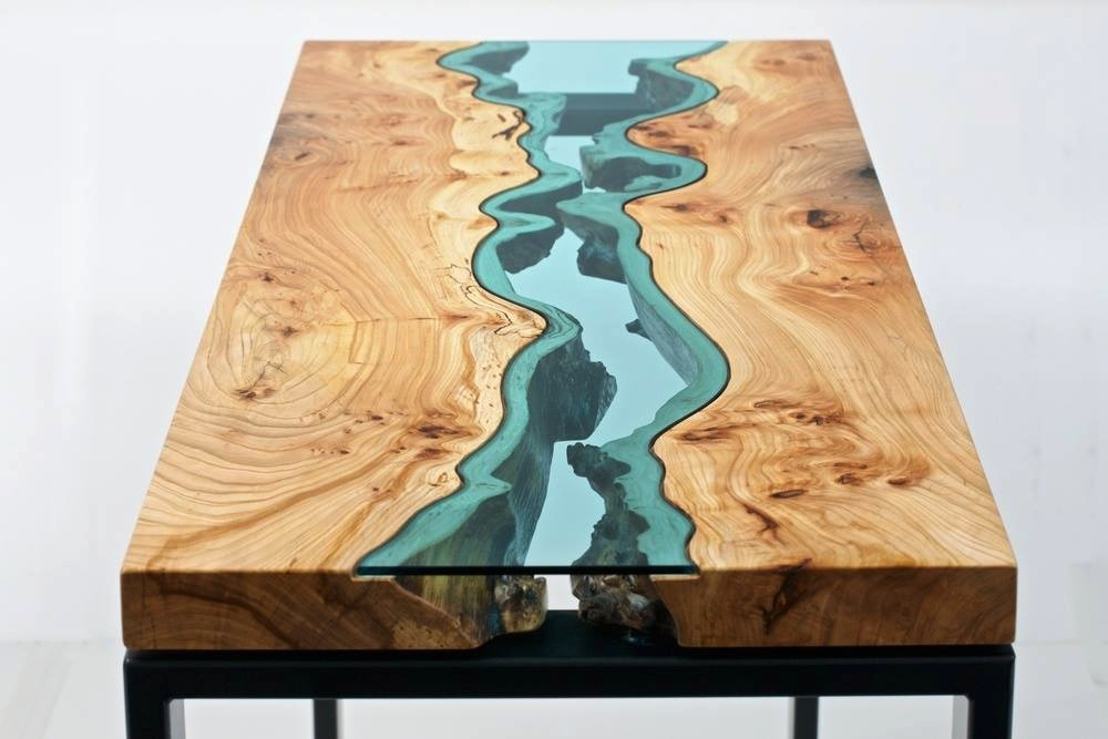 wood and glass coffee table designs | hawk haven Wood and Glass Coffee Table Designs