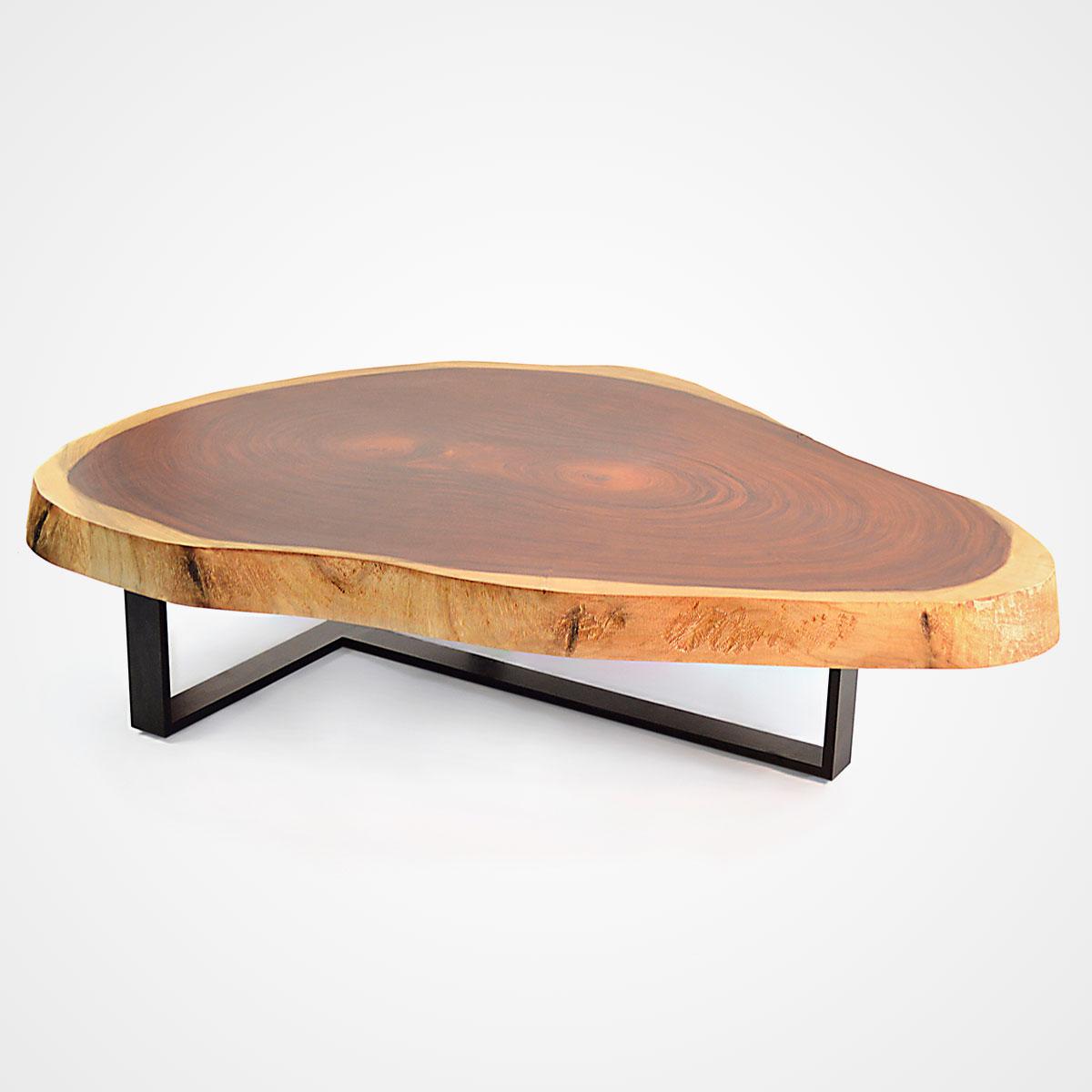 wood coffee table base photo - 10