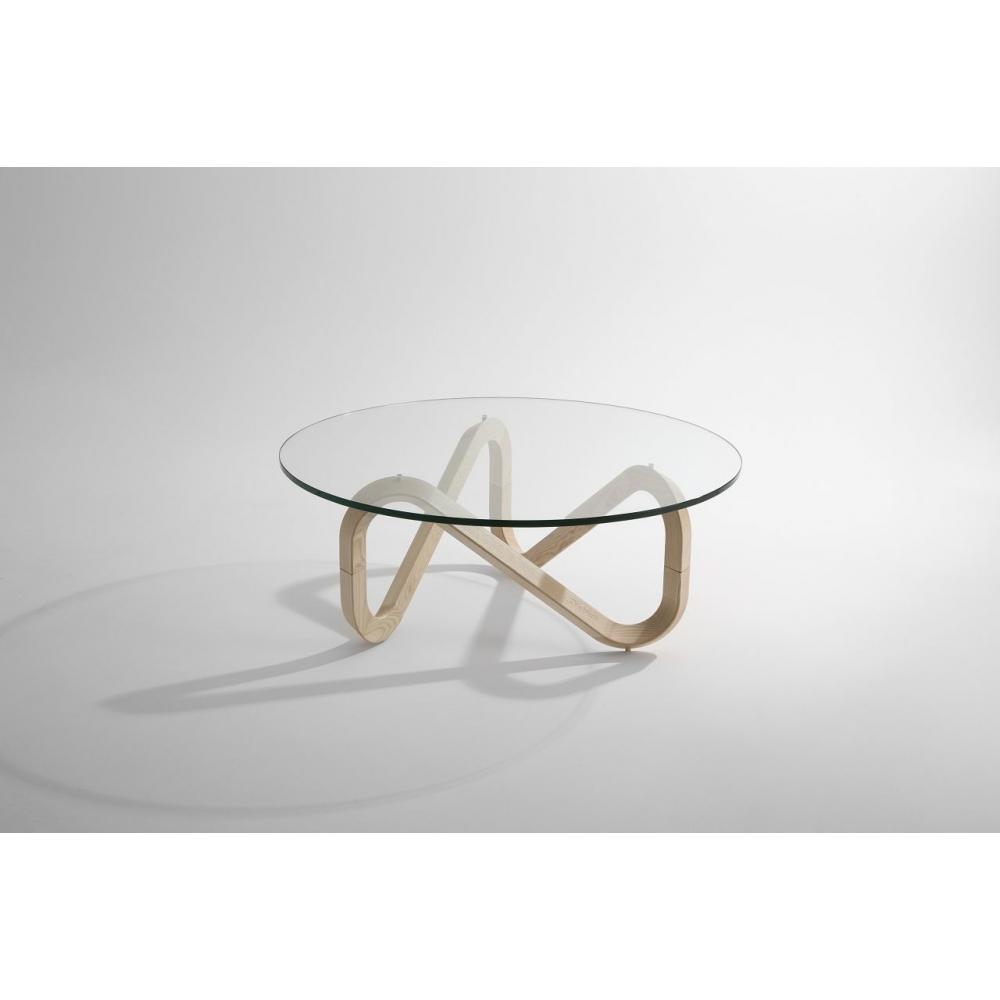 wood coffee table base photo - 2