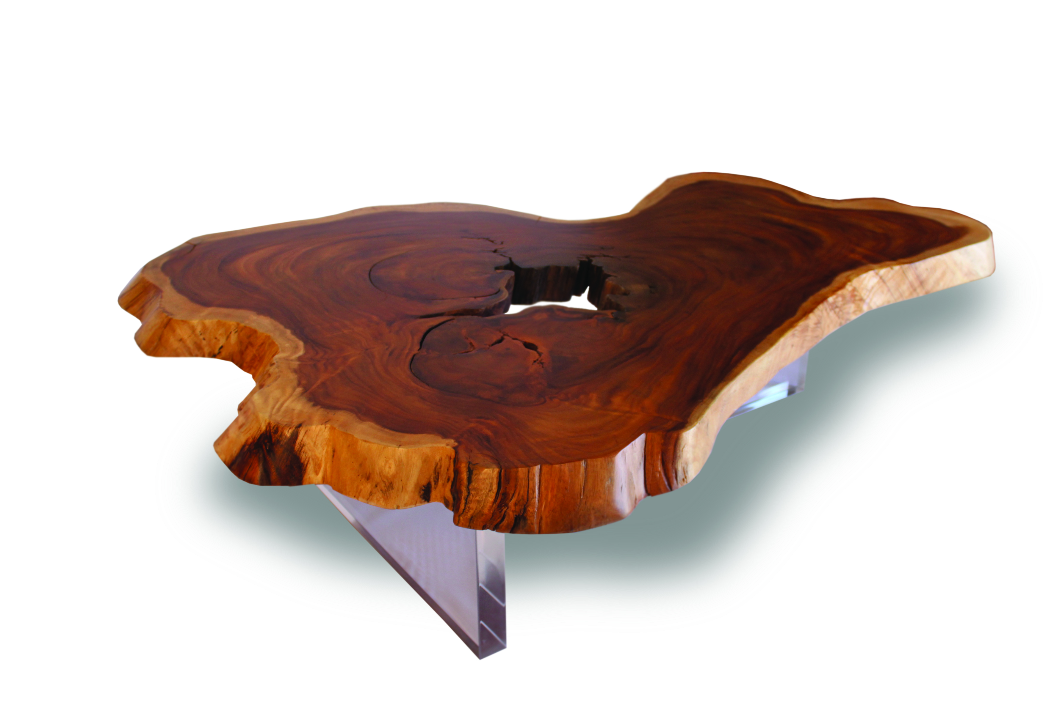 wood coffee table base photo - 3