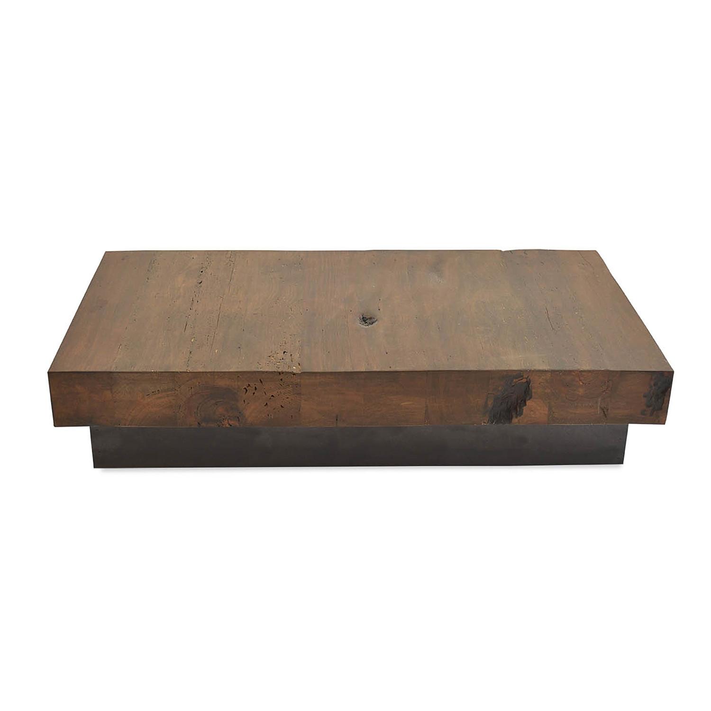 wood coffee table base photo - 6