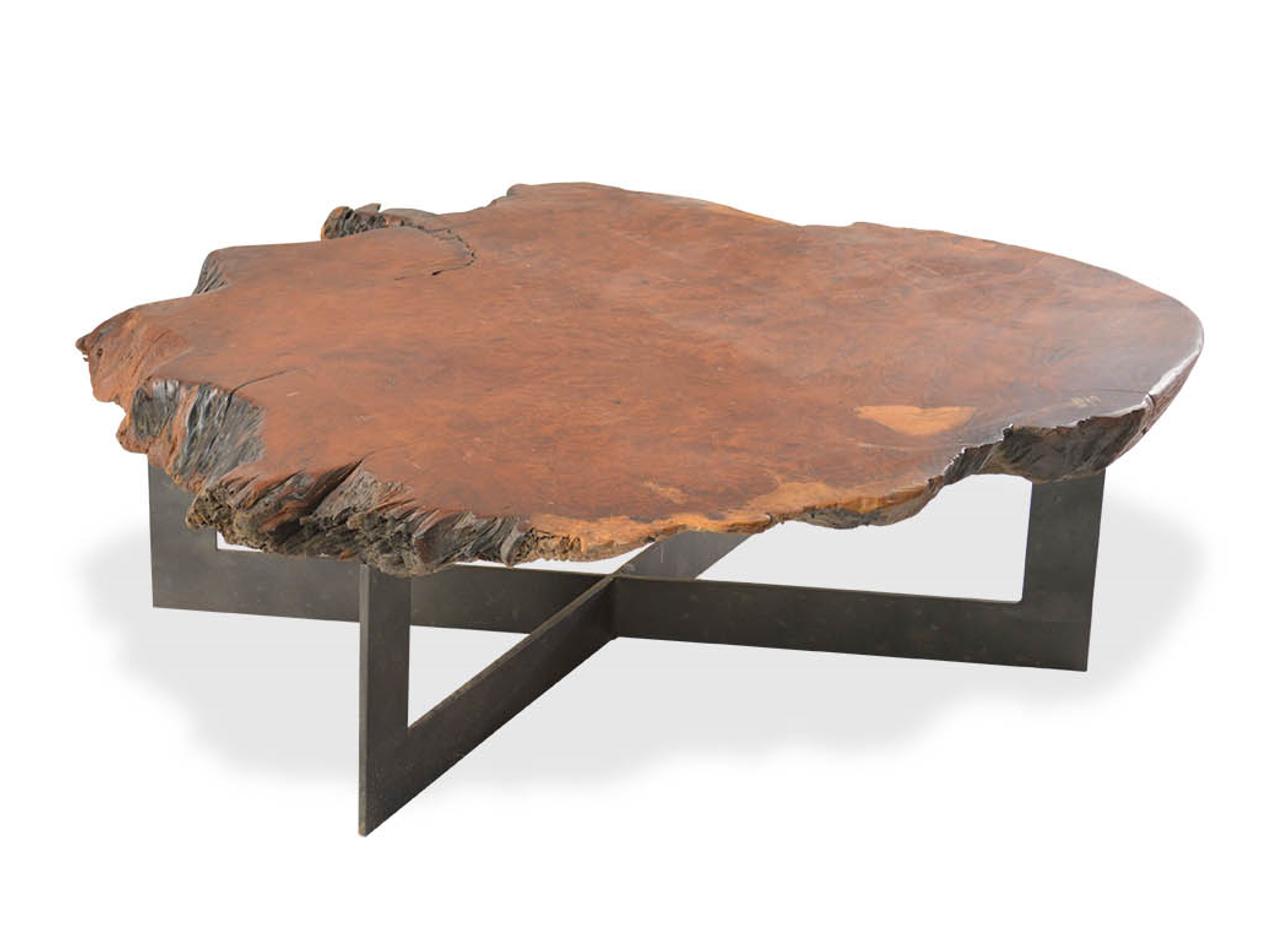 wood coffee table base photo - 9