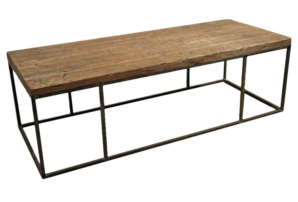 Wood Coffee Table Base Only Photo   7
