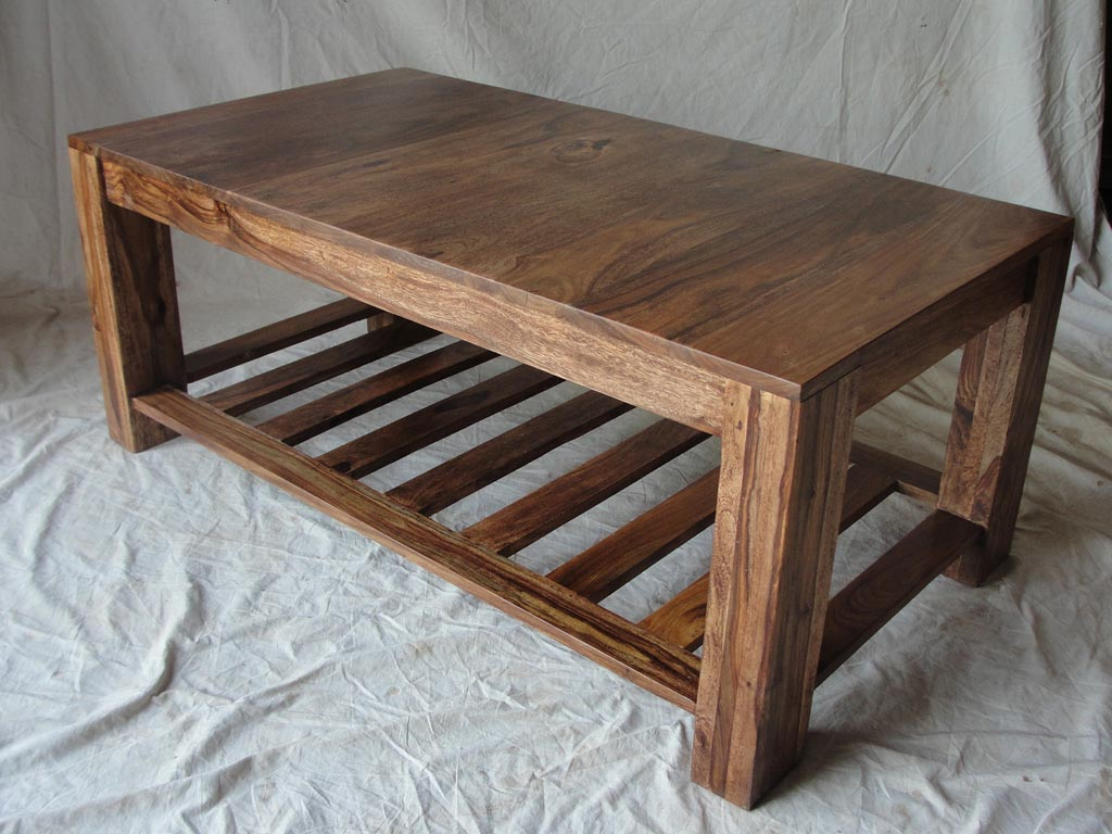 wood coffee table designs photo - 3