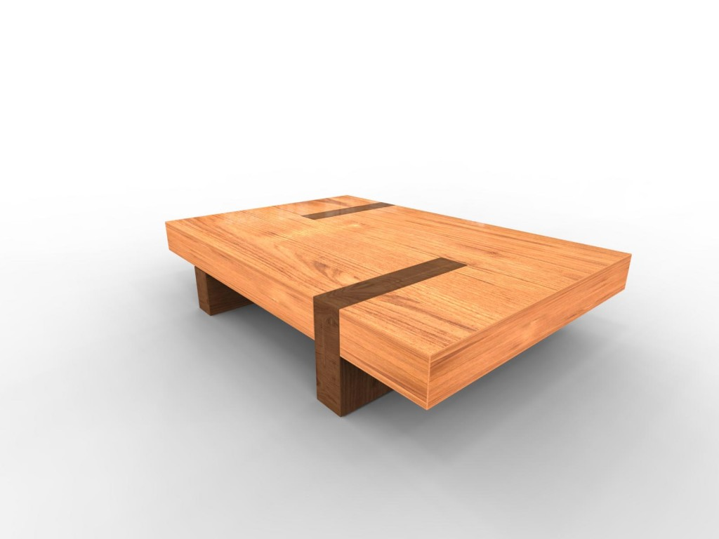 wood coffee table designs photo - 7