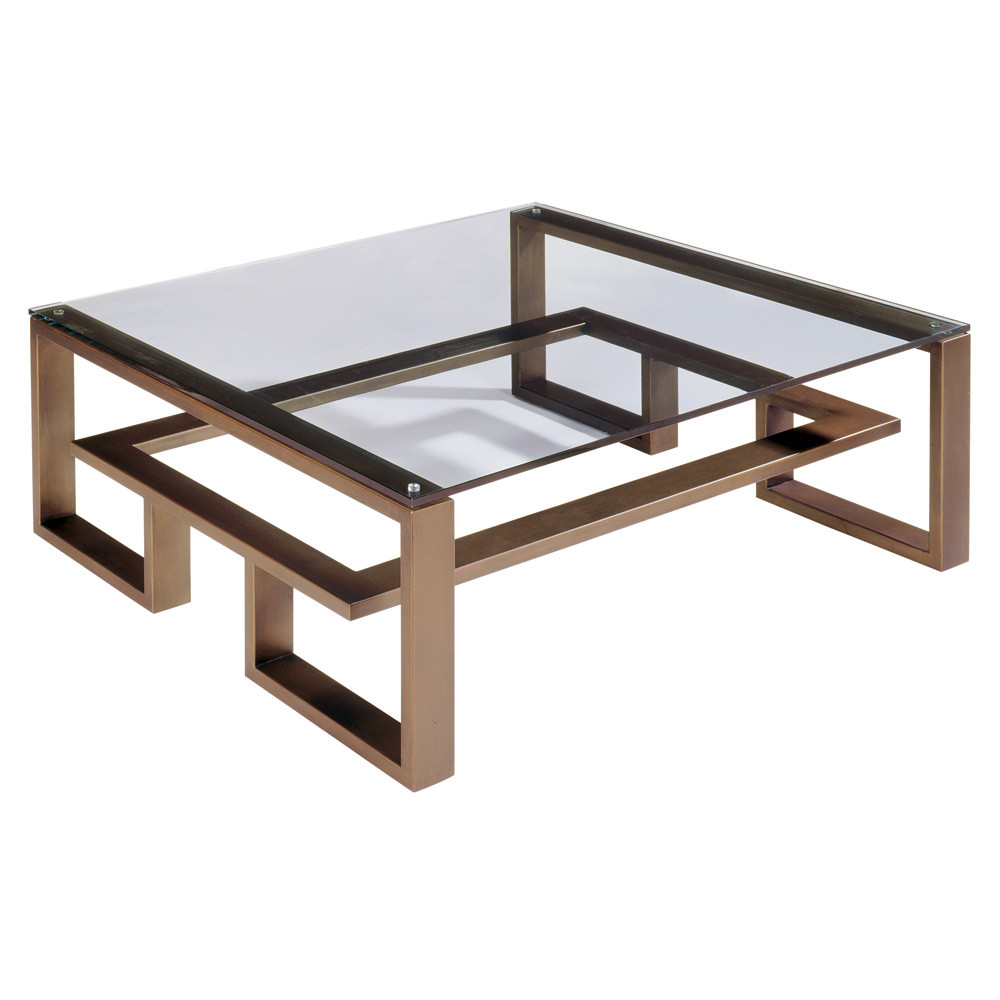 wood coffee table modern photo - 3