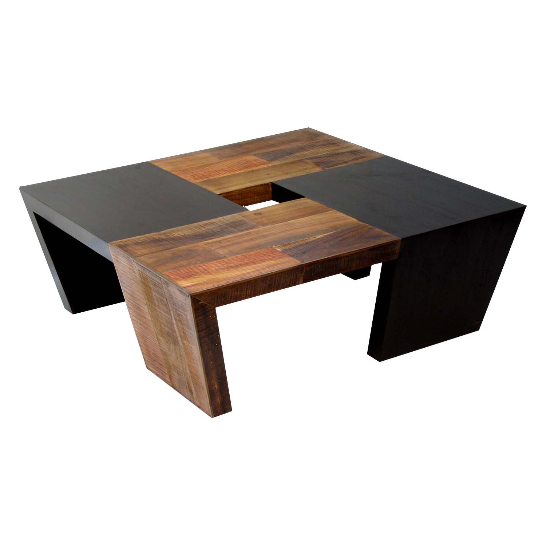 wood coffee table modern photo - 6