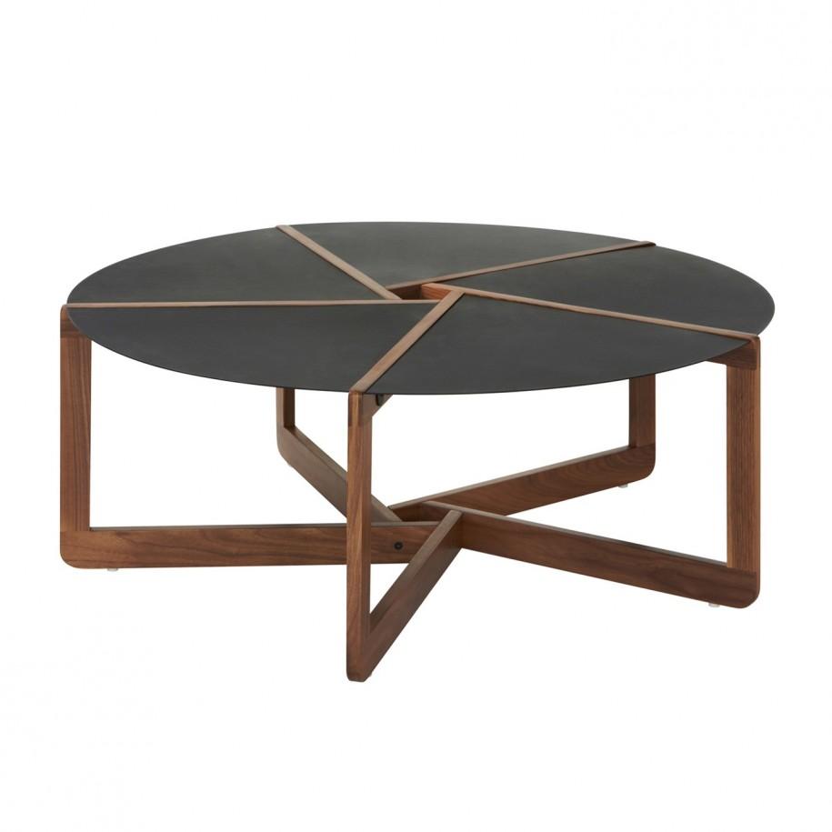 wood coffee table modern photo - 7