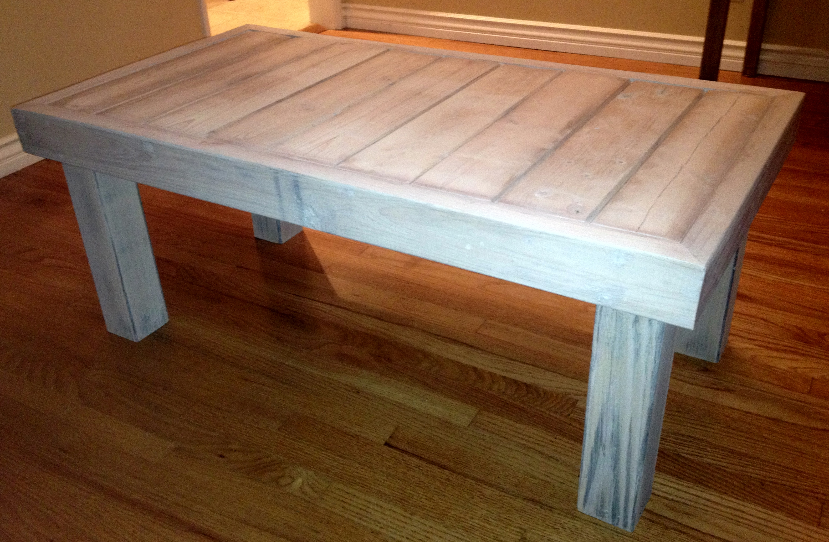 wood coffee table plans photo - 7