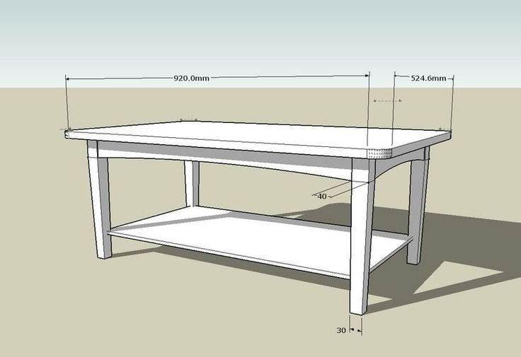 wood coffee table plans free photo - 6