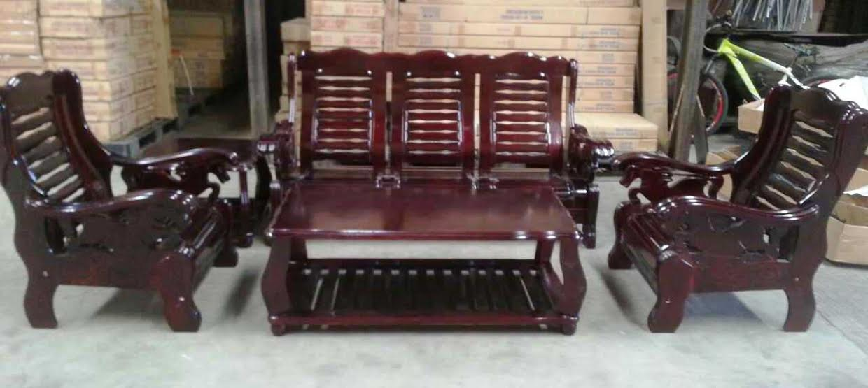 Wooden Sofa Set In The Philippines