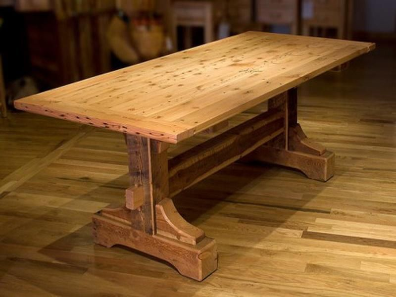 wood table designs photo - 10