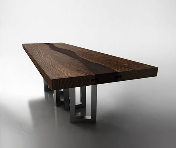wood table designs photo - 7