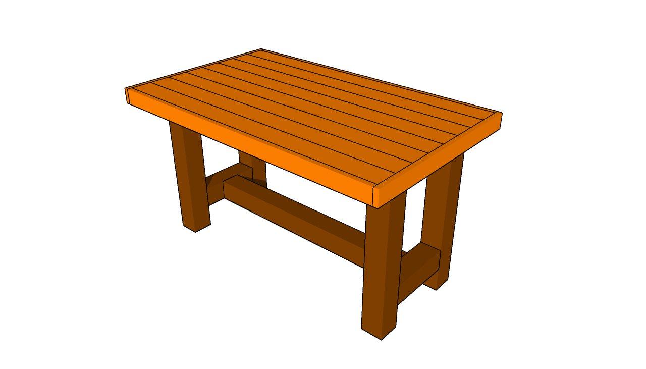 Wood Table Designs Plans Hawk Haven