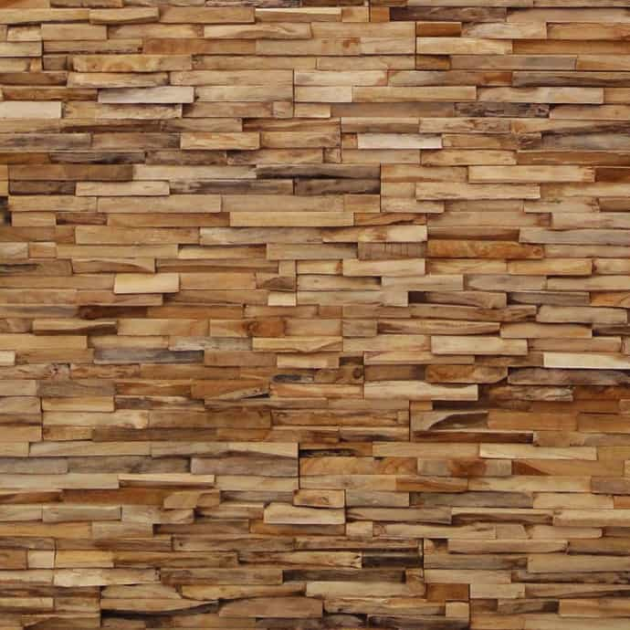 wood wall design photo - 4