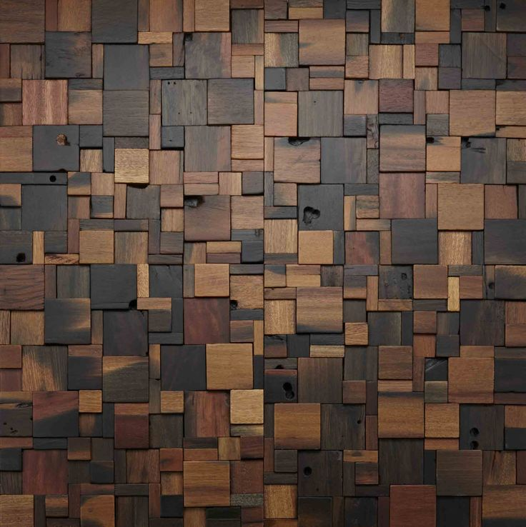 wood wall design photo - 5