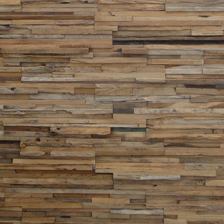 wood wall design photo - 6
