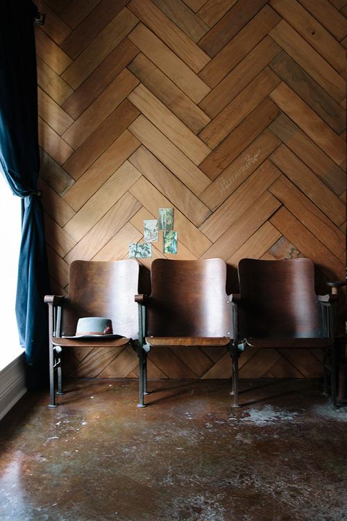 wood wall design sponge photo - 2