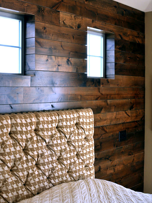wood wall design sponge photo - 4